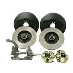 Disc Brake Kit, 5 On 4-3/4 Chevy, Ball Joint 66-74