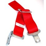 "2"" Crotch Strap, Red, Fits Alll Duck Bill Style Belts"