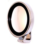 Deluxe Side View, Polished With Convex Lense, Each