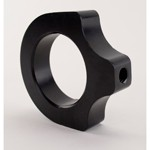 "Billet Bracket, Clearanced, For 1-3/4"" Tube, Black, Each"