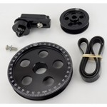 Serpentine Belt Pulley System, Black Anodized For Type 1 VW