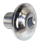 "Crank Pulley Bolt, 3/8"" Socket, For Aircooled VW"
