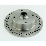 Disc Brake Rotor, 4 On 130mm, For Ball Joint 66-79, Vented