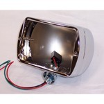 "7"" Rectangular Headlight Shell, Sold Each"