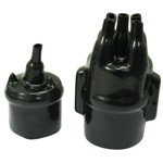 009 Distributor Water Proof Kit, Black, 2 Pieces