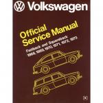 Bentley Repair Manual, Type 3 VW 68-73