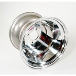 "15 X 12"" Aluminum Rim, 4 On 130mm, 3-1/2"" Backspacing"