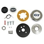 STEERING WHEEL ADAPTER, For Beetle & Ghia 49-59 To 3 Bolt