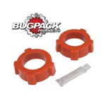 """Knobby Spring Plate Grommets, 2"""" ID, Bugpack, Pair"""