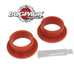 """Flanged Spring Plate Grommets, 1-7/8"""" ID, 2-1/4"""" OD, Pair"""