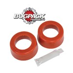 """ROUND SPRING PLATE GROMMETS, 1-3/4"""" ID, Bugpack, Pair"""