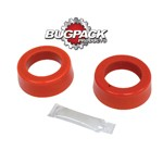 """ROUND SPRING PLATE GROMMETS, 1-7/8"""" ID, Bugpack, Pair"""