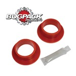 """FLANGED SPRING PLATE GROMMETS, 1-3/4"""" ID, 2"""" OD, Pair"""