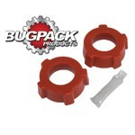 """Knobby Spring Plate Grommets, 1-3/4"""" ID, Bugpack, Pair"""