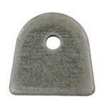 "Flat Mount Tab, 1/4"" Hole"
