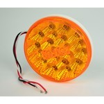 LED ROUND TAIL LIGHT, Amber, Sold Each