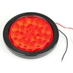 TAIL LIGHT SEAL, For Round LED Lights, Sold Each