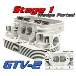 GTV-2 CNC VW HEADS, 94mm Stage 1 Port Job, Dual Spring, Pair
