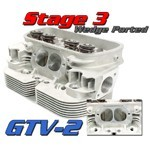 GTV-2 CNC VW HEADS, 94mm Stage 3 Port Job, Dual Spring, Pair