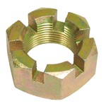 REAR AXLE NUT, Without Flange, 36mm, For All Aircooled VW