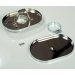 """Air Cleaner Top & Bottom Base, With 2-1/16"""" Inlet"""
