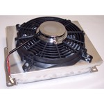 Aluminum Oil Cooler, With Electric Fan