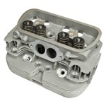 Cylinder Head, Big Valved, 85.5mm With Single Springs