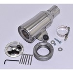 "Spark Arrestor, 10"" Stainless Steel With Side Mount"