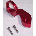 Fuel Pump Blockoff, With Coil Mount, Red