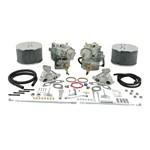 Dual 40 Solex Carburator Kit, For 1.7-1.8 Type 2, No Choke
