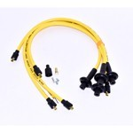 Taylor 409 Spark Plug Wires, 10.4mm, Yellow, For Type 1 VW