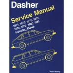 Bentley Manual, VW Dasher 74-81