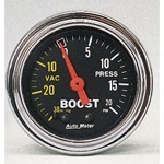 2-1/16 BOOST GAUGE MECHANICAL