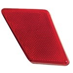 Tail Light Side Reflector, Left Side, For Beetle 70-72