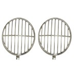 Headlight Stone Guard, Fits Beetle 54-66, Stainless, Pair