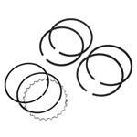 Piston Ring Set,  92Mm, 2 X 2  x 4, With Chrome Top Ring