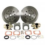 Disc Brake Kit, 5 On 4-3/4 Chevy, Swing Axle Short Spline HD