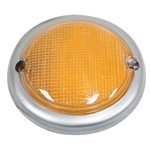 Tail Light Lens, Left Side, For Bus 63-67 Amber