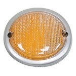 Tail Light Lens, Right Side, For Bus 63-67 Amber