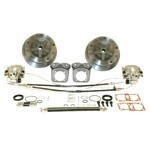 Wide Disc Brake Kit, 5 On 205Mm  E-Brake, Long Spline FORGED