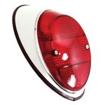 Tail Light Assembly, Right Side, For Beetle 62-67, Red