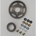 Straight Cut Cam Gear Kit, Steel Gears, Fits VW