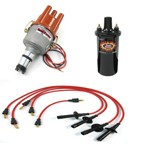 Ripper Ignition Kit, With Electronic Distributor, Red