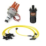 Ripper Ignition Kit, With Electronic Distributor, Yellow