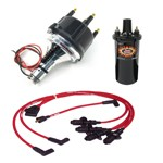 Ripper Ii Ignition Kit, With Billet Distributor, Red