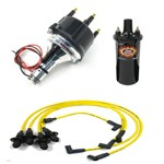Ripper Ii Ignition Kit, With Billet Distributor, Yellow