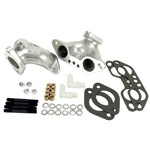 Dual Carbs Intake Manifolds, For Type 2 & 4 For Kadron Carb