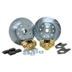 Disc Brake Kit, 5 On 4-3/4 Chevy, For King Pin 56-65 VENTED