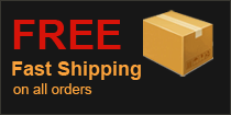 Free fast shipping on all orders